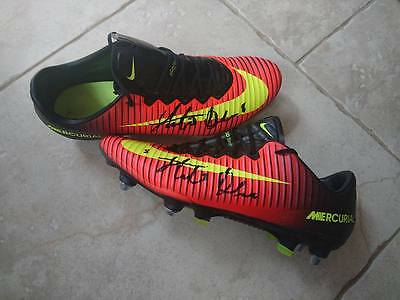 "Stephen Dawson ""match Worn"" - Signed Boots - Scunthorpe United - Bury"