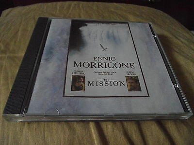 ennio morricone the mission original film soundtrack cd picclick uk. Black Bedroom Furniture Sets. Home Design Ideas