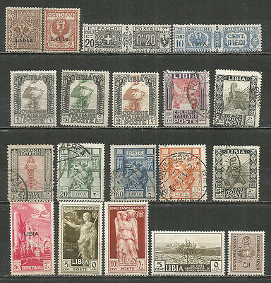 Italy Colony LIBIA  nice mint/used stamps