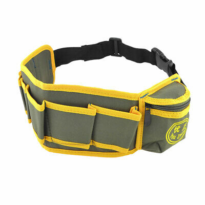 Side Release Buckle Closure Electrician Tool Belts Bag Waist Pouch