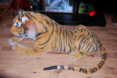 HUGE XXXL tiger soft toy 5.5 FT
