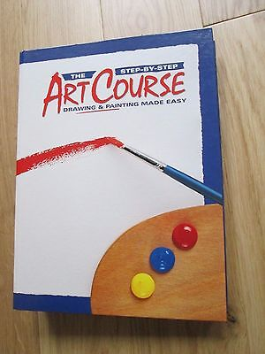 14-25 The Step By Step Art Course Drawing & Painting Made Easy Magazines Bundle