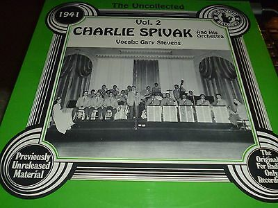 Charlie Spivak & His Orchestra The Uncollected Vol. 2 1941 Vinyl LP HSR-188 NEW