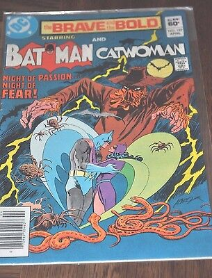The Brave and The Bold #197 April 1983 Batman and Catwoman excellent condition