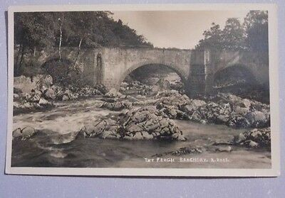 KINCARDINESHIRE. THE FEUGH, BANCHORY. Fine vintage real photo by A ROSS.