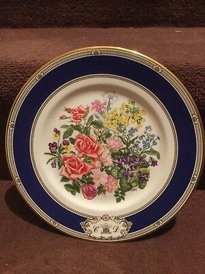 Royal Doulton Royal Wedding Bouquet Plate Charles And Diana