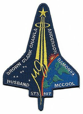 """Nasa - Sts -107 Columbia Space Shuttle  5"""" Patch"""