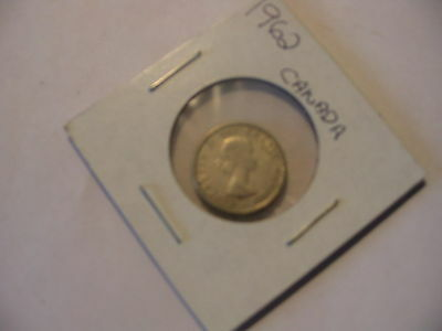 1962 CANADIAN DIME COIN CANADA 10c SILVER