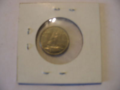 1968 CANADIAN DIME COIN CANADA 10c SILVER