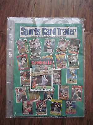Sports Card Trader Baseball Card Price and Grading Guide 1986 Darrel Porter
