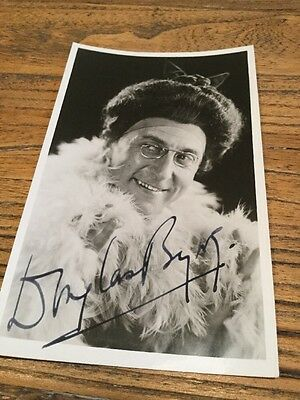 Old Photo Postcard Of A Actor .  Signed.....