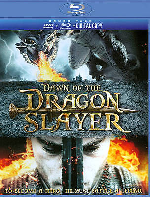 DAWN OF THE DRAGON SLAYER (Blu-ray/DVD, 2012, 2-Disc Set) New / Factory Sealed