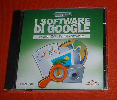 Cd - Rom   I Software Do Google - Picasa - Talk - Earth4 - Sketchup
