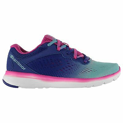 Karrimor Kids Velox Girls Running Lace Up Shoes Lightweight Textile Breathable