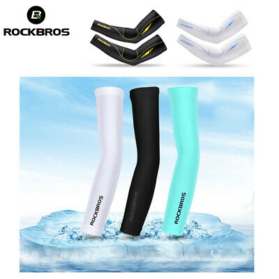 RockBros Arm Sleeves Cover Cycling Outdoor Sport UV Sun Protection 1 Pair