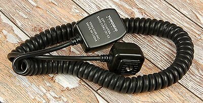 Canon EOS fit Yongnuo OC-E3 Off Shoe Cord flash FOR 580EX etc