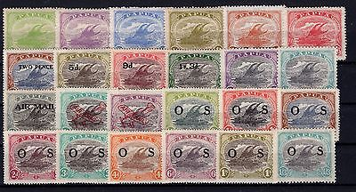 P24751/ Papouasie Papua 1917 / 1932 Lot Neuf / Mint Mh 165 €