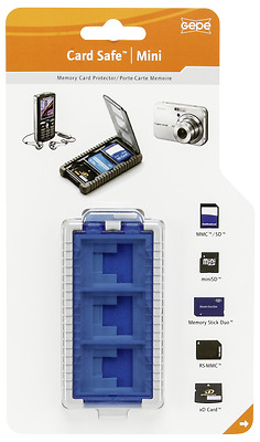 Gepe Card Safe Mini iceblue All in One 3853-02