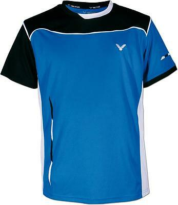VICTOR Function Shirt Team 6774 blau Sport Badminton Training Squash Größe XL