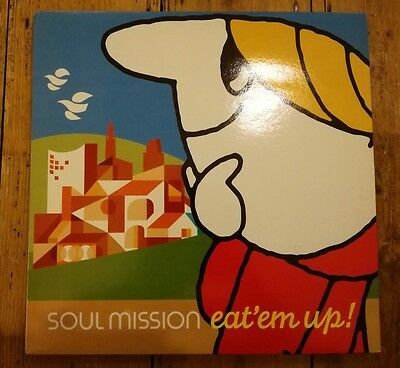 Soul Mission - Eat ' Em Up Lp Cerbal 17 Lacerba 2000 Nm!