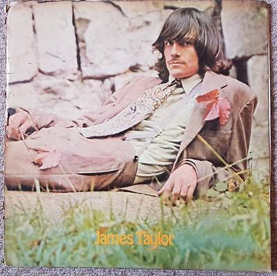 James Taylor - Vinyl LP Apple SAPCOR 3B Pressing 1968 ORIGINAL