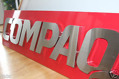 Hard to find COMPAQ Office Sign computer HP Man Cave special