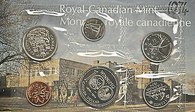 1974 Canada Uncirculated Proof-Like Set