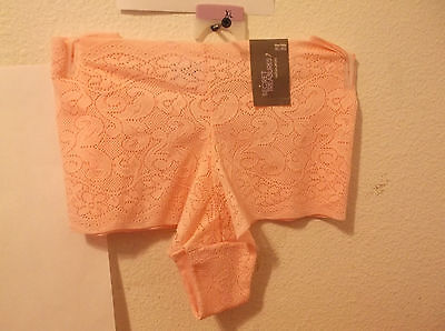 b8b2a635fd23 Brand New Lady's Secret Treasures Pink Colored Lace Boyshort Panties