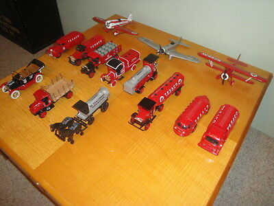 14 Texaco Toy Truck And Airplane Banks By Ertl All Mint Condition Bin $35