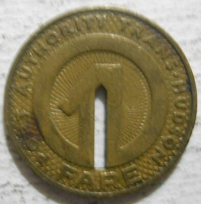 Port Authority Trans-Hudson - PATH (New York) transit token - NY630AQ