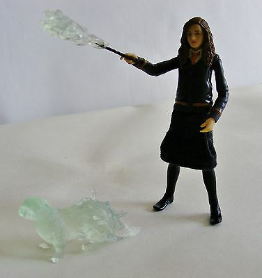 Harry Potter Loose Figure Hermione Granger Wand & Patronus Order of the Phoenix