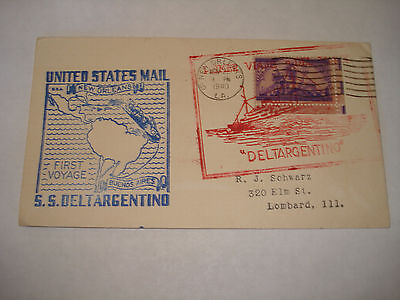 SS DELTARGENTINO USAT J W McANDREW WW II troop ship  AFRICAN ENTERPRISE 1940 1st