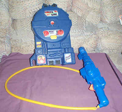 Vintage Ghostbusters Proton pack Kenner  & nozzle1984 backpack