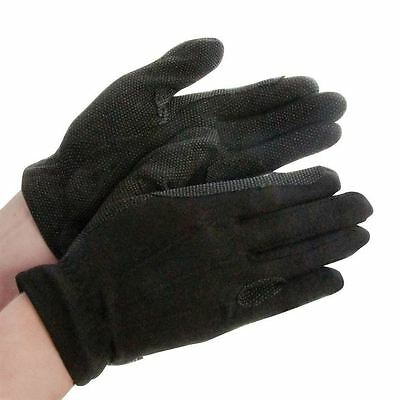 Dublin Deluxe Track Gloves Reinforced Hands Horse Riding Equestrian Accessories