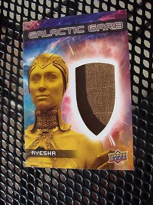 2017 GUARDIANS OF THE GALAXY Vol 2 CARD GALACTIC GARB MEMORABILIA SM-16 AYESHA