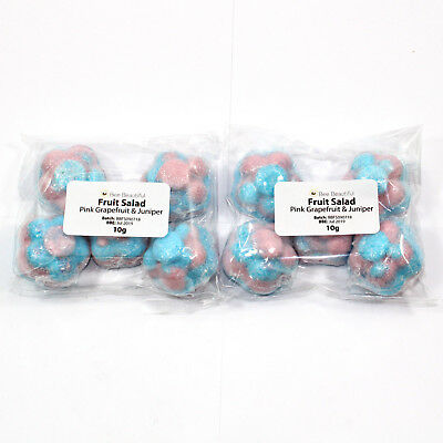 10 x Mini Flower bath bombs 10g - wedding favours - gifts