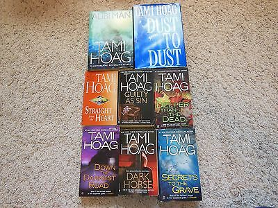 Mixed Lot Of 8 Books-By Tami Hoag