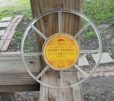 Old Advertising Franke Produce Hot Dish Pad El Paso Il 35 E Front St Phone 59