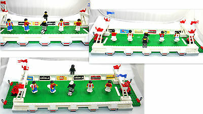 2002 Lego System Soccer Football # 3421 Set 3 V 3 Shootout + Inst On Dvd
