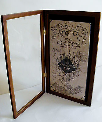 Harry Potter Noble Collection - Marauders Map Replica AND Display Case - RARE!