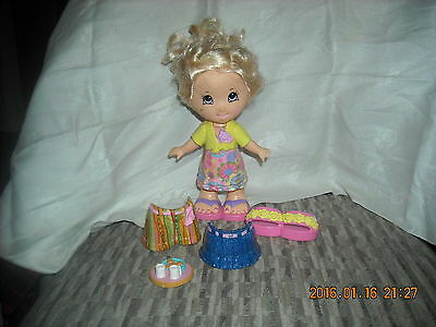 """Fisher price doll clothing shorts skirt dress shoes accessories snap & style 7"""""""