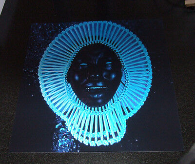 "Childish Gambino ""Awaken My Love"" Colour Promo Poster. New 30 x 30 cms. Rare."