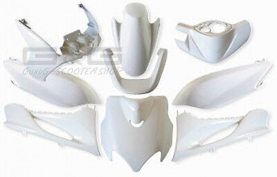 Fairing Kit Fairing parts White MBK Mach G Yamaha Jog R RR