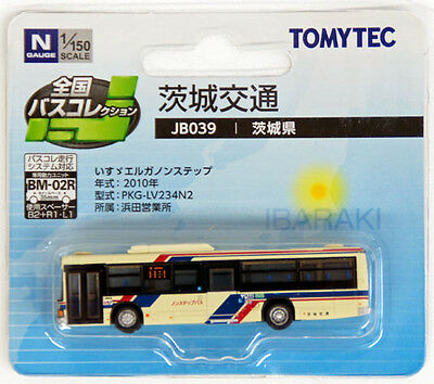 "Tomytec The Bus Collection ""Ibaraki Bus"" (JB039) 1/150 N scale"