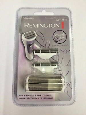 Remington Smooth & Silky Replacement Foils & Cutters SPW440 For WDF-4840 WDF4840