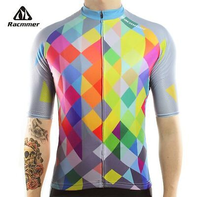 Racmmer 2017 Cycling Jersey Mtb Bicycle Clothing Bike Wear Clothes Multi colour