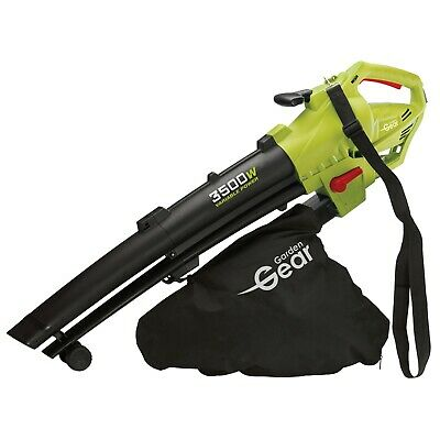 Electric Leaf Blower Vacuum Shredder Mulcher 45L 3-in-1 3000W NEW by Garden Gear