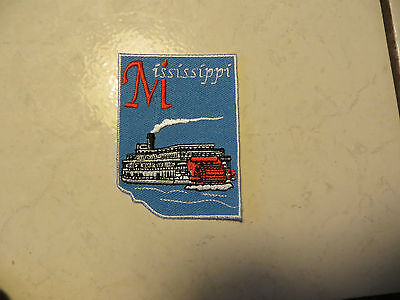 State Of Mississippi,in Usa,riverboat On The River,show Love Patch