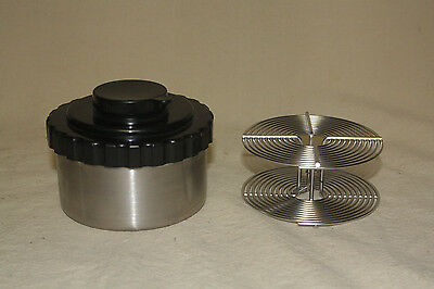 STAINLESS STEEL 8oz FILM DEVELOPING TANK WITH 35mm REEL 7294
