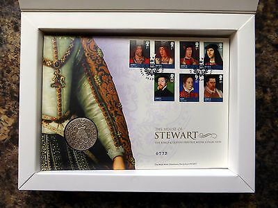 GB 2012 Kings and Queens Prestige Medal Cover Collection SEE BELOW NB996